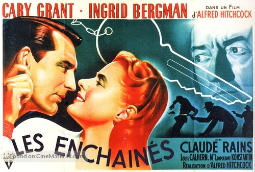 Notorious - French Movie Poster