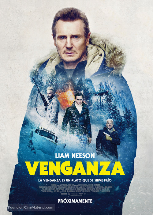 Cold Pursuit - Argentinian Movie Poster
