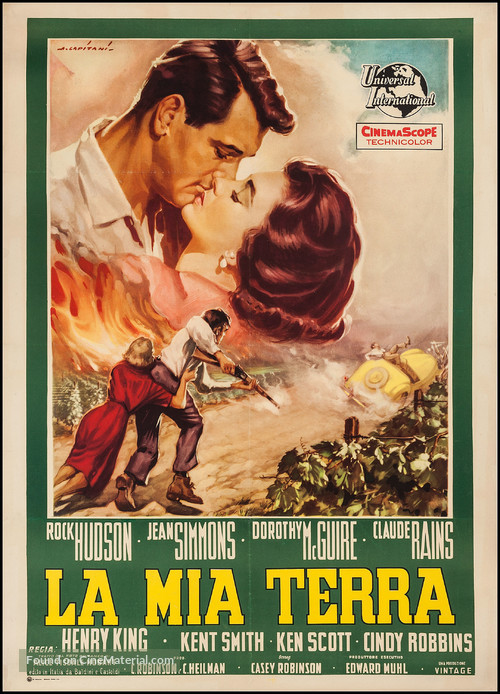 This Earth Is Mine - Italian Movie Poster