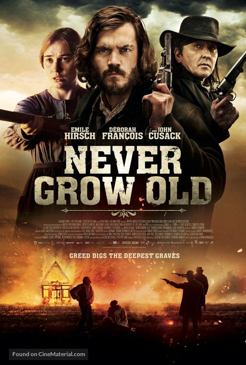 Never Grow Old - British Movie Poster
