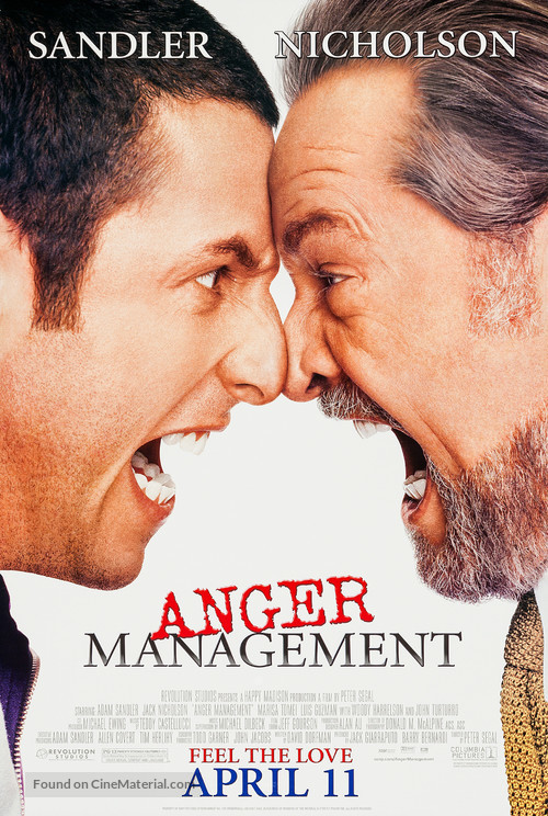 Anger Management - Movie Poster