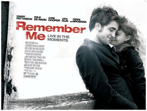 Remember Me - British Movie Poster