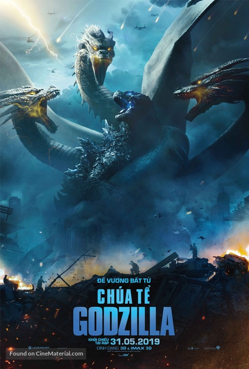 Godzilla: King of the Monsters - Vietnamese Movie Poster