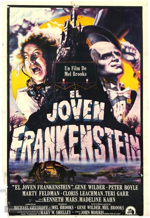 Young Frankenstein - Mexican Movie Poster