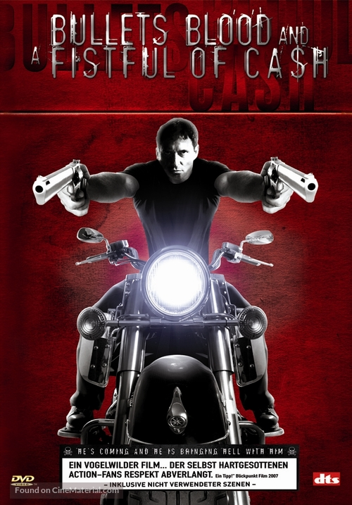 Bullets, Blood & a Fistful of Ca$h - DVD cover