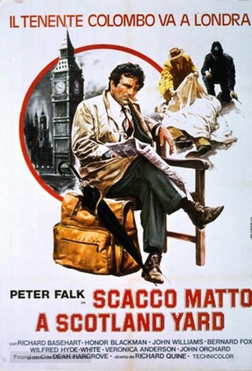 """Columbo"" - Italian Movie Poster"
