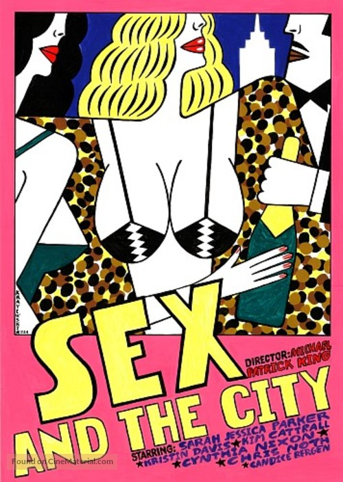 Sex and the City - Polish Movie Poster