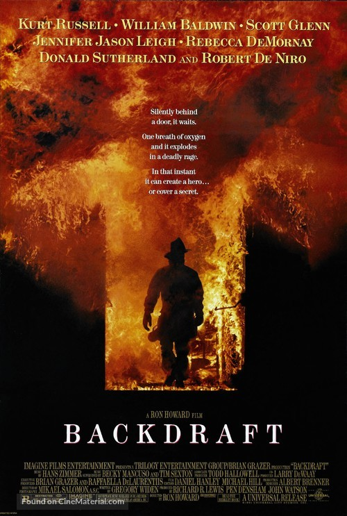 Backdraft - Movie Poster