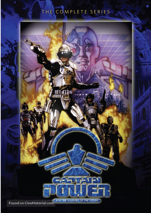 """""""Captain Power and the Soldiers of the Future"""" - DVD cover"""