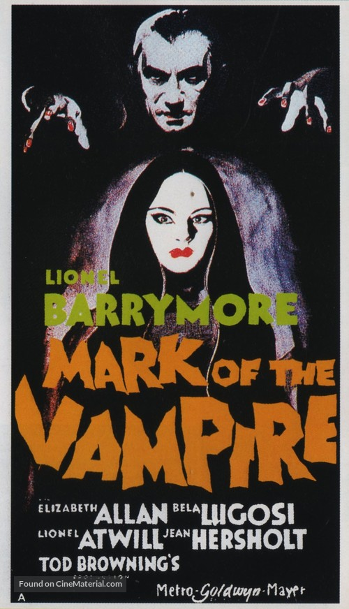 Mark of the Vampire - Movie Poster