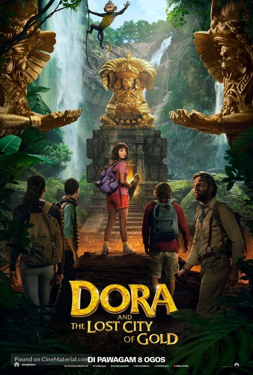 Dora and the Lost City of Gold - Malaysian Movie Poster