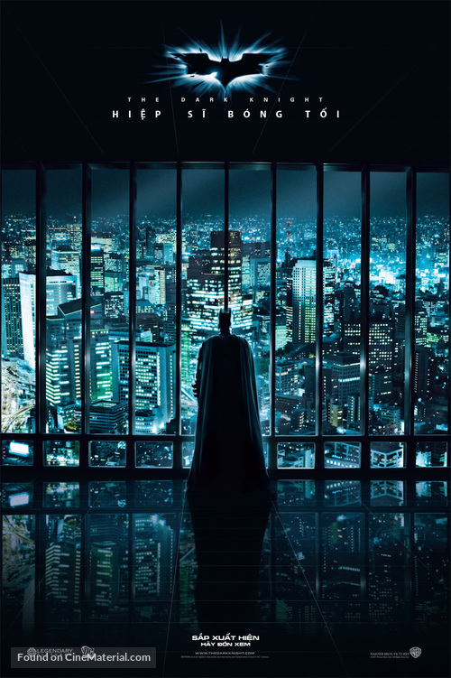 The Dark Knight - Vietnamese Movie Poster
