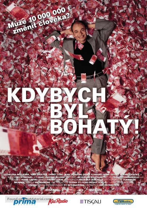 Ah! Si j'étais riche - Czech poster