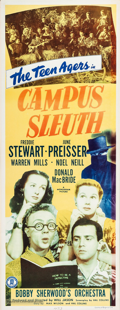 Campus Sleuth - Movie Poster