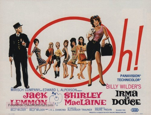 Irma la Douce - Movie Poster