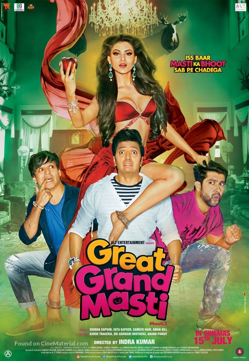 Great Grand Masti subtitle download