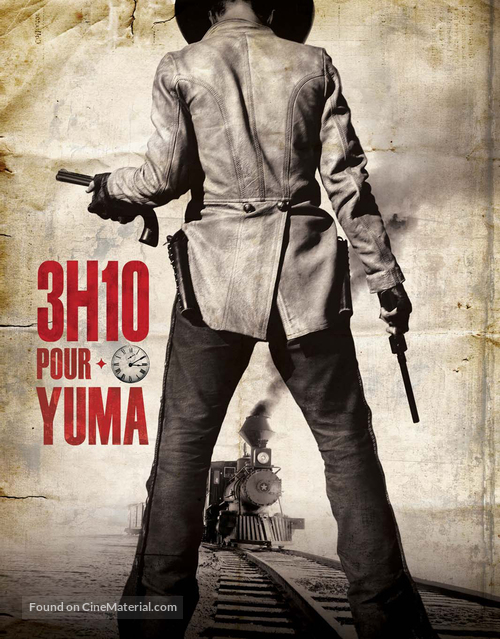 3:10 to Yuma - French Movie Poster