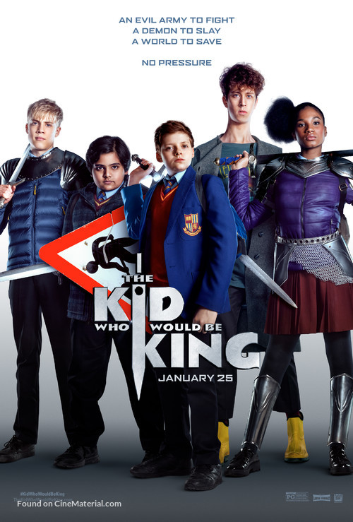 The Kid Who Would Be King - Movie Poster