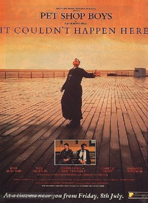 It Couldn't Happen Here - British Movie Poster