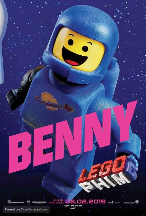 The Lego Movie 2: The Second Part - Vietnamese Movie Poster