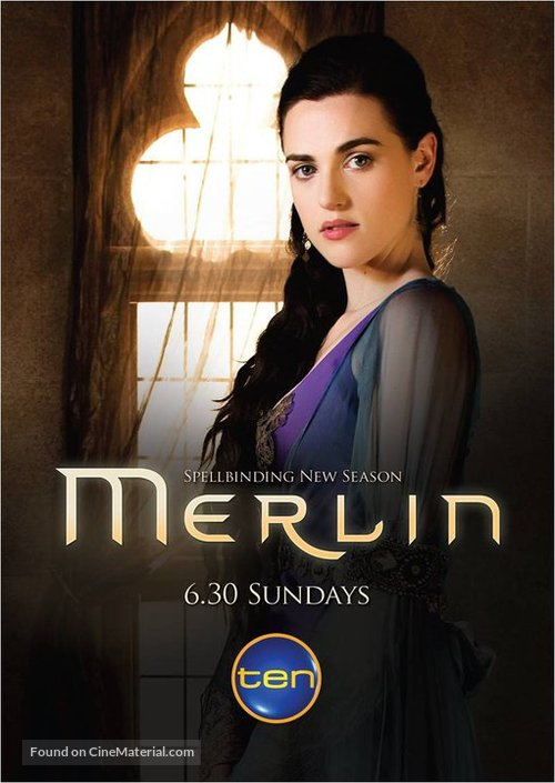 """Merlin"" - Australian Movie Poster"