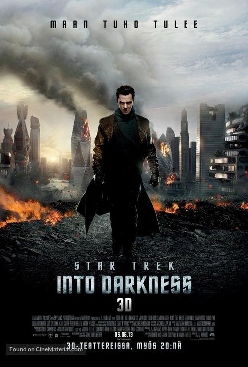 Star Trek: Into Darkness - Finnish Movie Poster