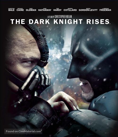 The Dark Knight Rises - Japanese Blu-Ray cover