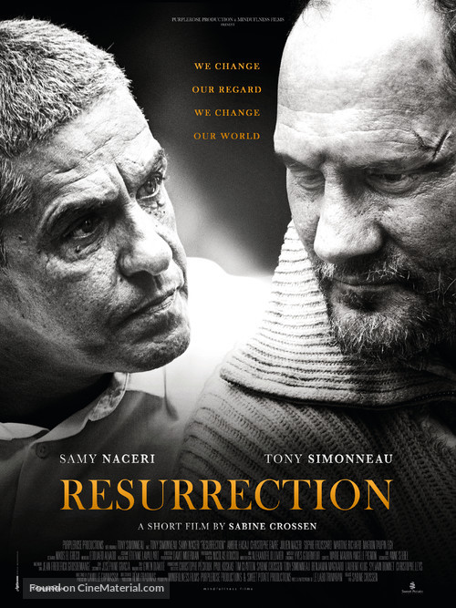 Resurrection - French Movie Poster