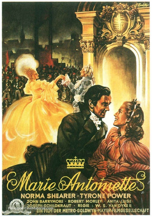 Marie Antoinette - German Movie Poster