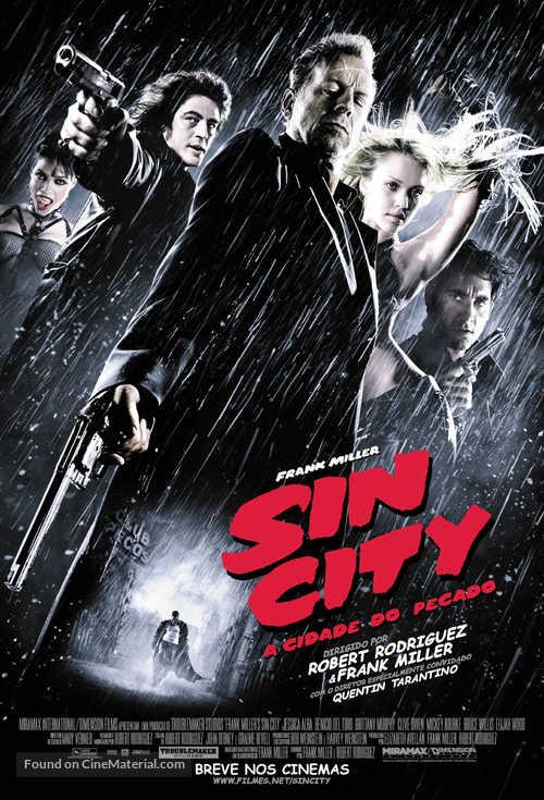 Sin City - Brazilian Movie Poster