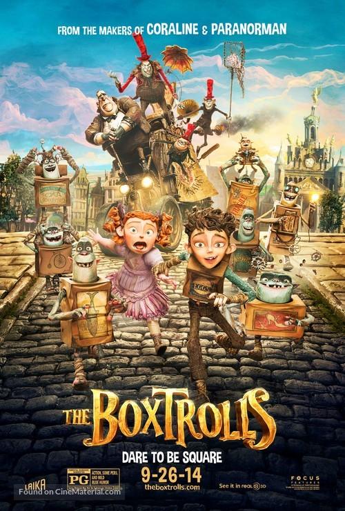 The Boxtrolls - Movie Poster