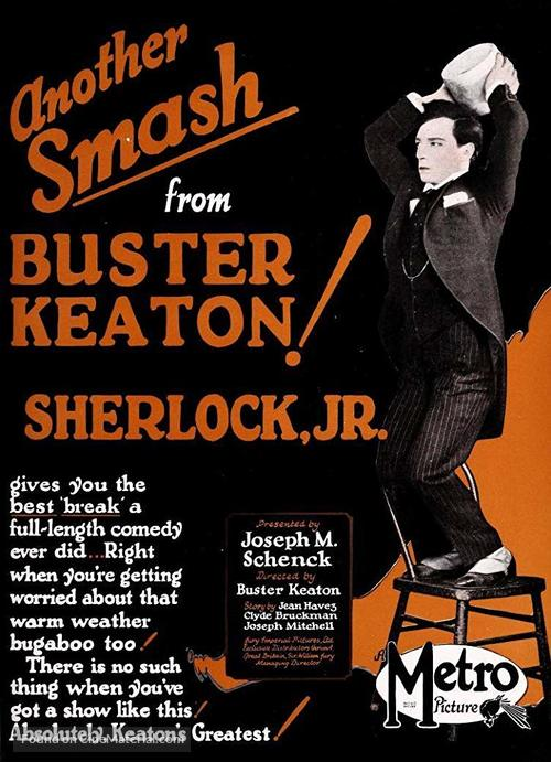 Sherlock Jr. - Movie Poster