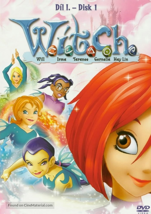 """W.I.T.C.H."" - Czech DVD movie cover"