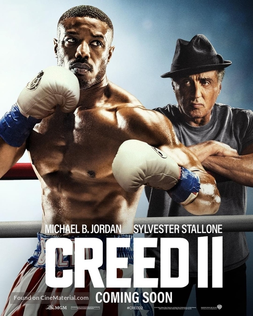 Creed II - British Movie Poster