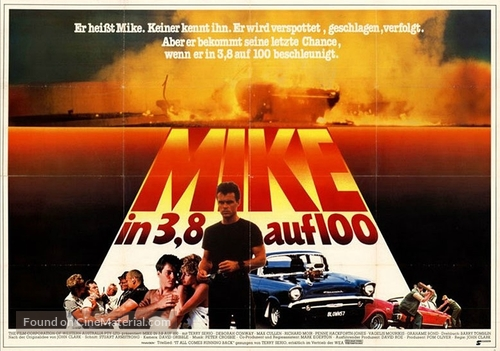 Running on Empty - German Movie Poster