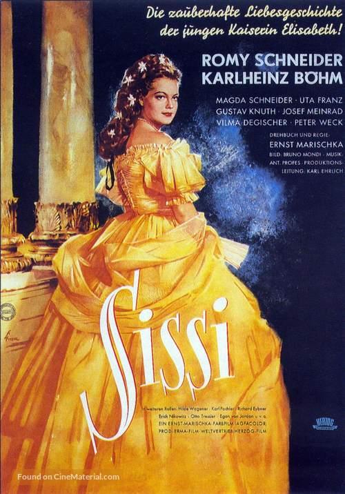 Sissi - German Movie Poster