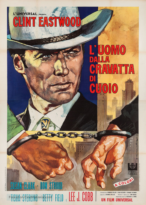 Coogan's Bluff - Italian Movie Poster