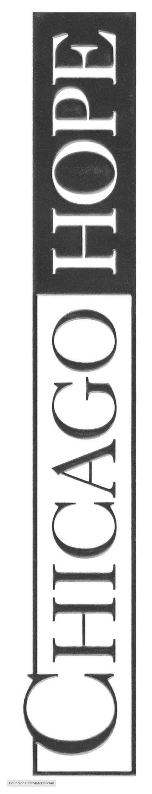 """Chicago Hope"" - Logo"