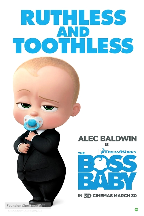 buy sale check out shop best sellers The Boss Baby (2017) British movie poster