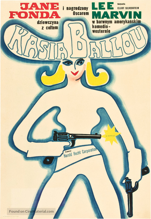 Cat Ballou - Polish Movie Poster
