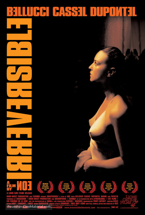 Irréversible - Movie Poster