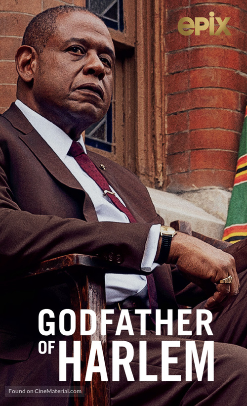 """""""The Godfather of Harlem"""" - Video on demand movie cover"""