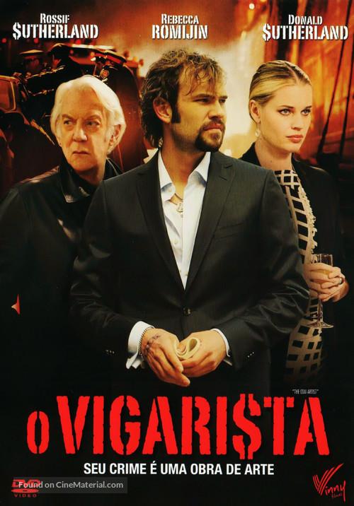 The Con Artist - Brazilian DVD cover