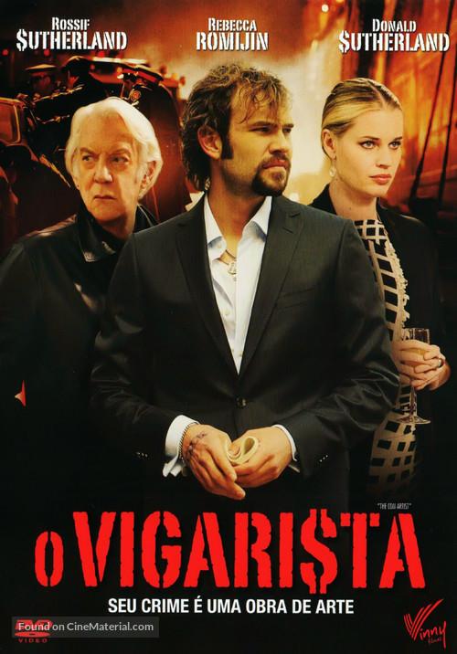 The Con Artist - Brazilian DVD movie cover