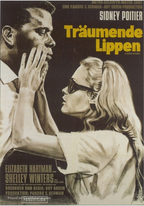 A Patch of Blue - German Movie Poster