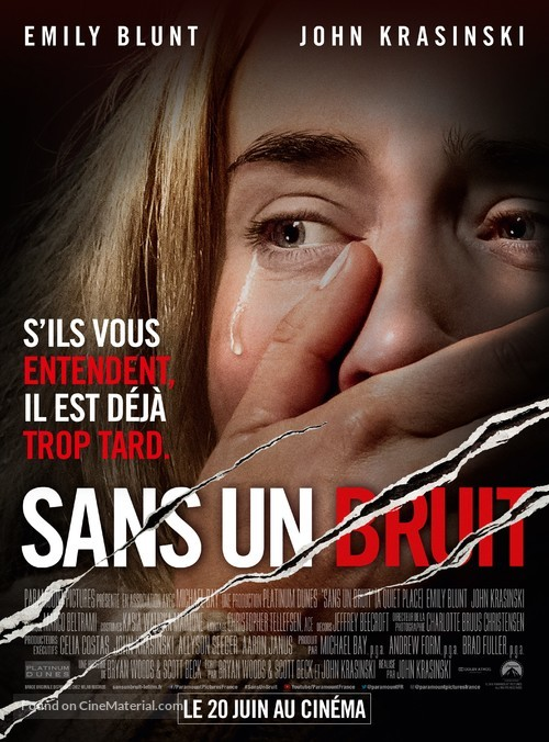 A Quiet Place - French Movie Poster