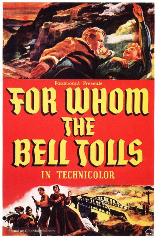 For Whom the Bell Tolls - Movie Poster