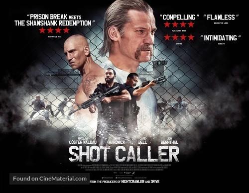 Shot Caller - British Movie Poster