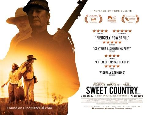 Sweet Country - British Movie Poster