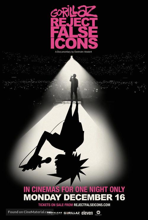 Gorillaz: Reject False Icons - Movie Poster